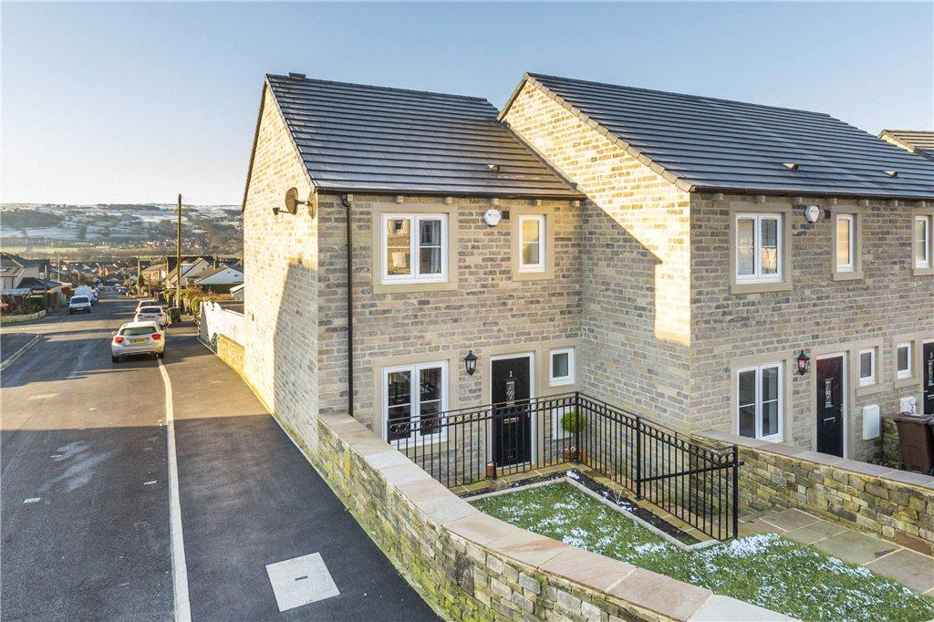 3 Bedrooms End Of Terrace House for sale in High Dale Rise, Silsden, Keighley, West Yorkshire