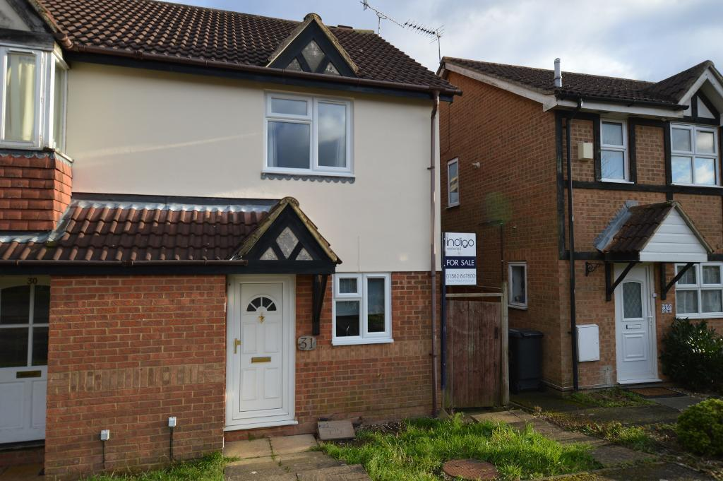 2 Bedrooms End Of Terrace House for sale in Farmbrook, Luton, LU2 7SQ