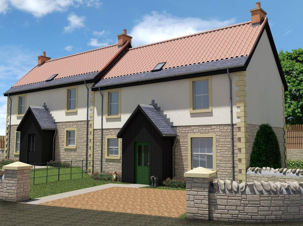3 Bedrooms Semi Detached House for sale in Coldstream, Scottish Borders