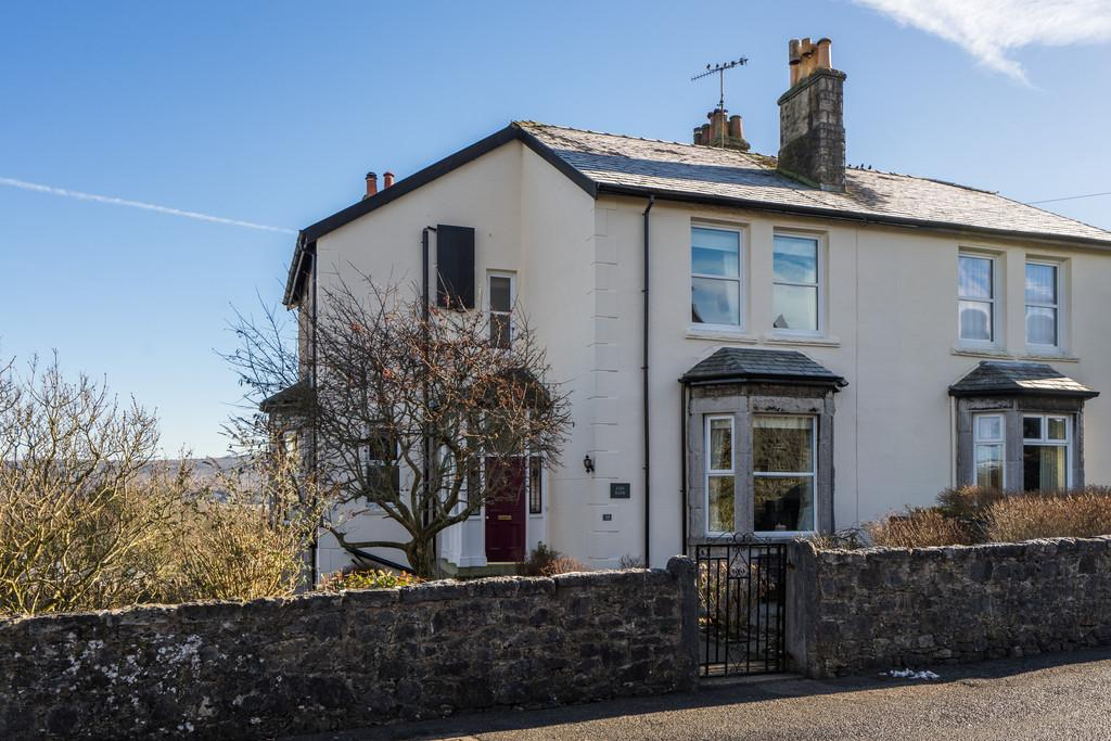 4 Bedrooms Semi Detached House for sale in Kirk Bank, 39 Church Hill, Arnside, Cumbria, LA5 0DW