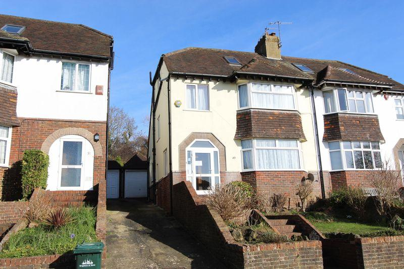 5 Bedrooms Semi Detached House for sale in Friar Road, Brighton