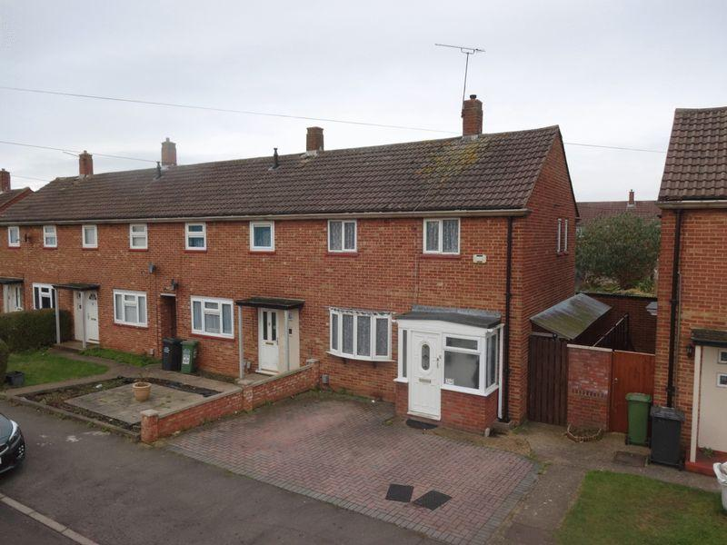 2 Bedrooms End Of Terrace House for sale in Birdsfoot Lane, Luton