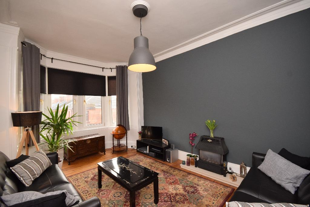 1 Bedroom Flat for sale in Thornwood Drive, Flat 3/2, Thornwood, Glasgow, G11 7TS