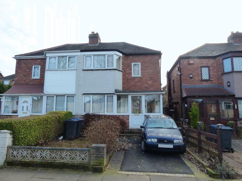 2 Bedrooms Semi Detached House for sale in Courtenay Road, Birmingham