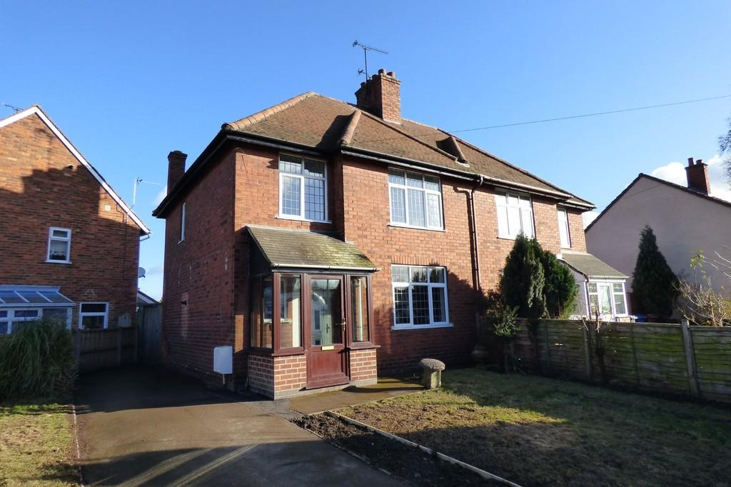 3 Bedrooms Semi Detached House for sale in Ashbourne Road, Rocester