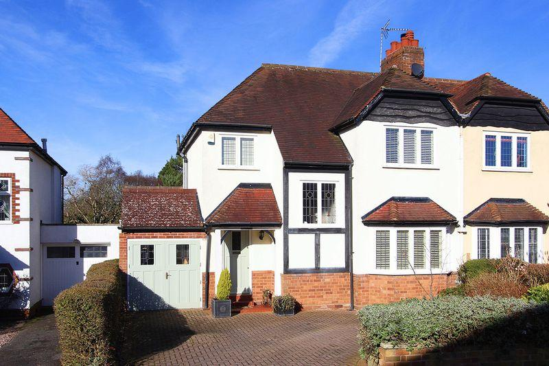 3 Bedrooms Semi Detached House for sale in TETTENHALL, Links Avenue