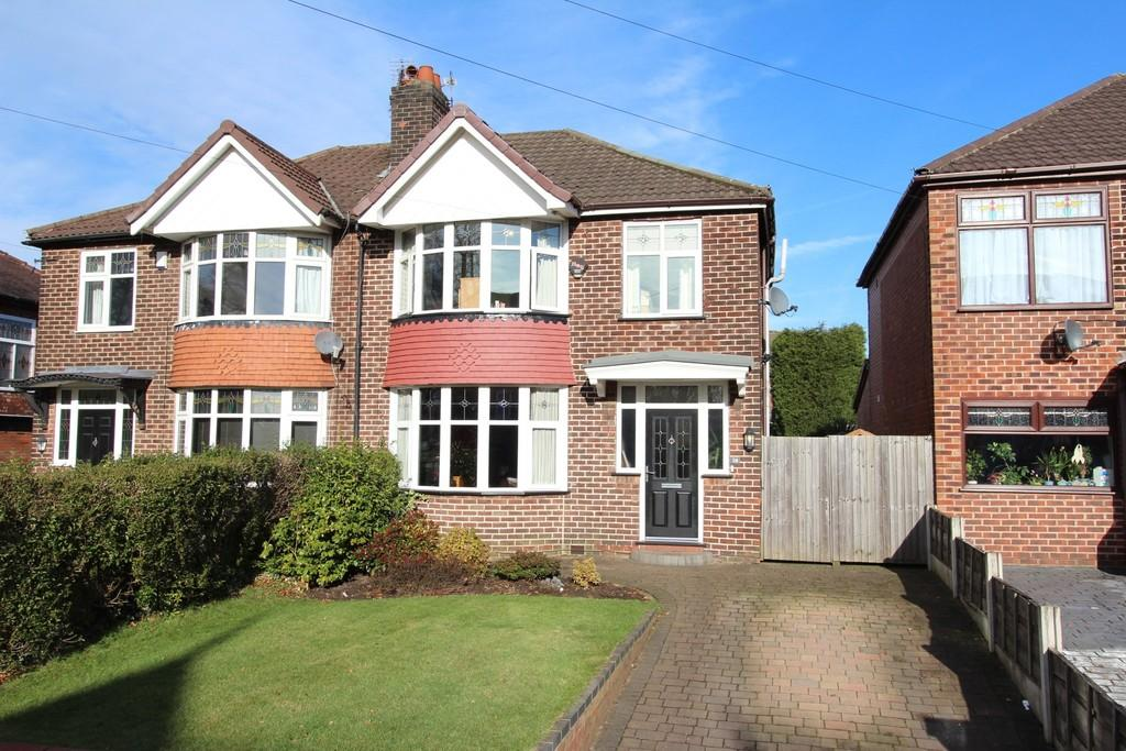 3 Bedrooms Semi Detached House for sale in Balmoral Road, Heaton Moor