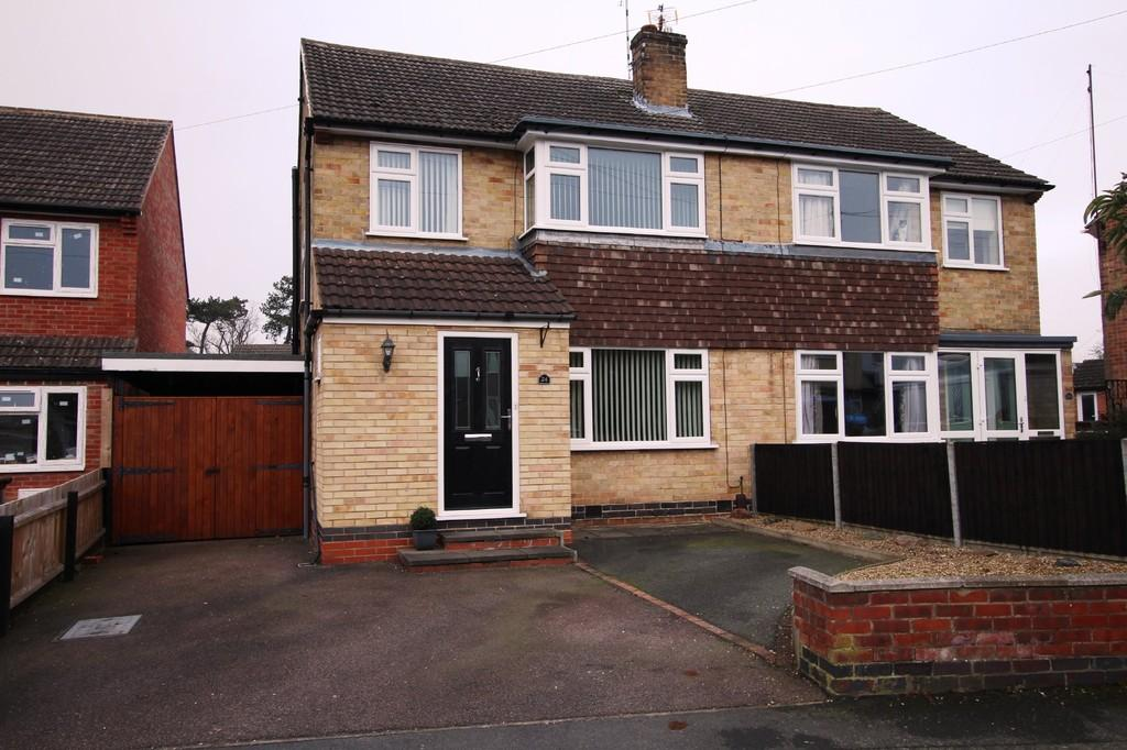 3 Bedrooms Semi Detached House for sale in Avon Vale Road, Loughborough