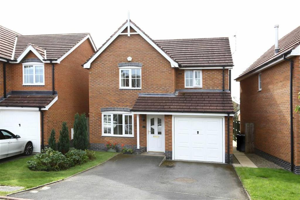 3 Bedrooms Detached House for sale in Garnett Close, Nantwich