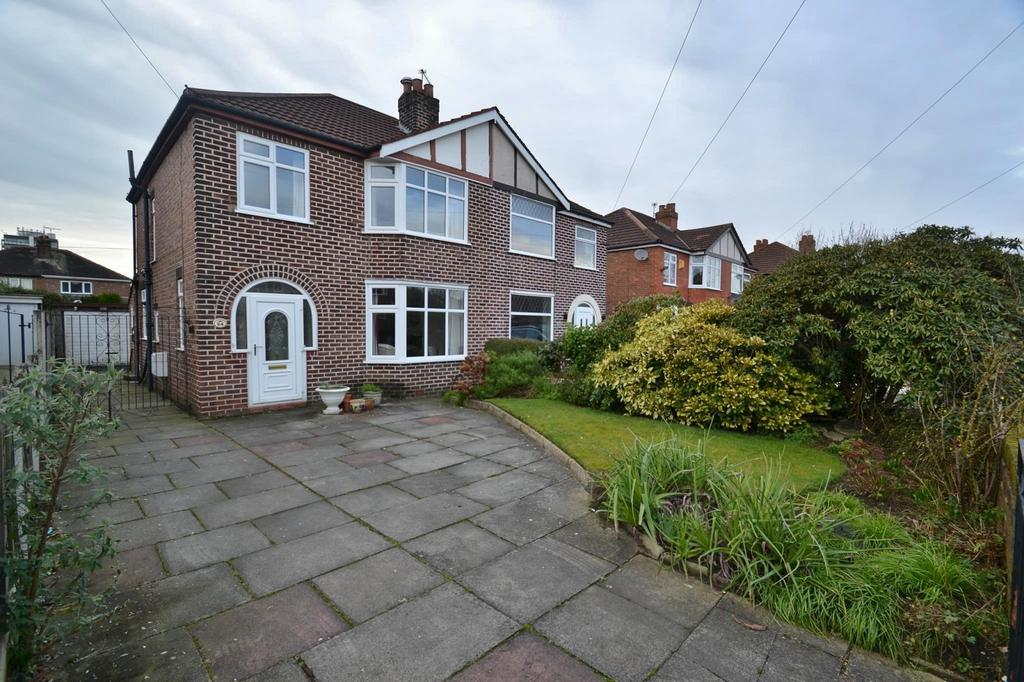 3 Bedrooms Semi Detached House for sale in Ollerton Avenue, Sale