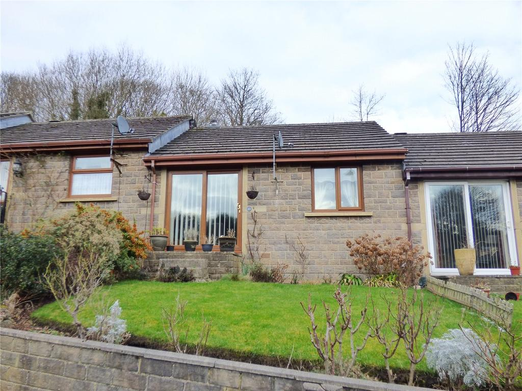 1 Bedroom Terraced Bungalow for sale in Crowther Close, Slaithwaite, Huddersfield, West Yorkshire, HD7