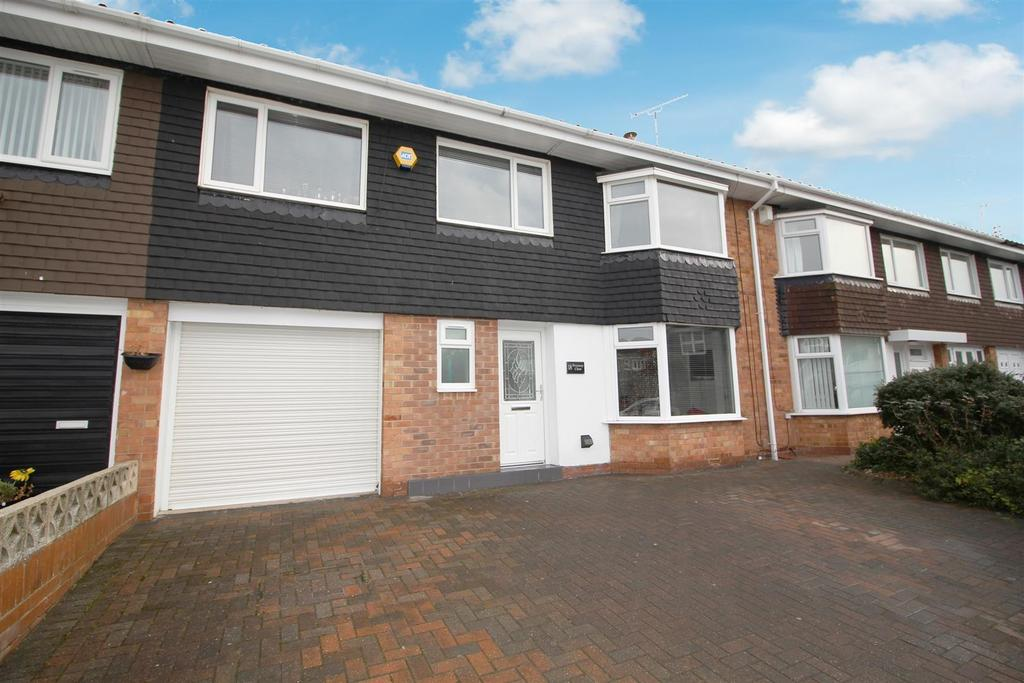 4 Bedrooms Semi Detached House for sale in Pevensey Close, North Shields