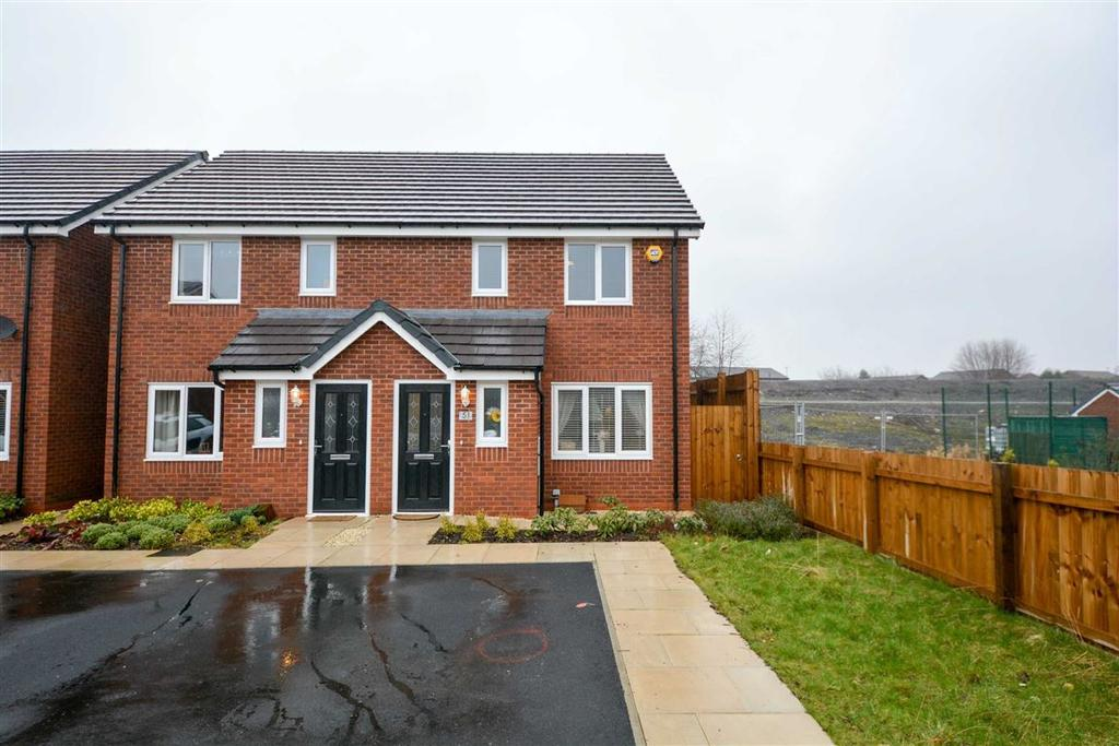 3 Bedrooms Semi Detached House for sale in Manse Gardens, Goose Green, Wigan, WN3