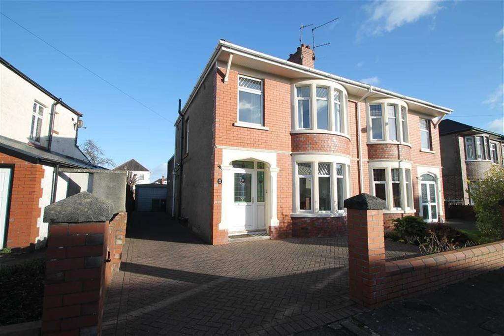 3 Bedrooms Semi Detached House for sale in St. Albans Avenue, Cardiff