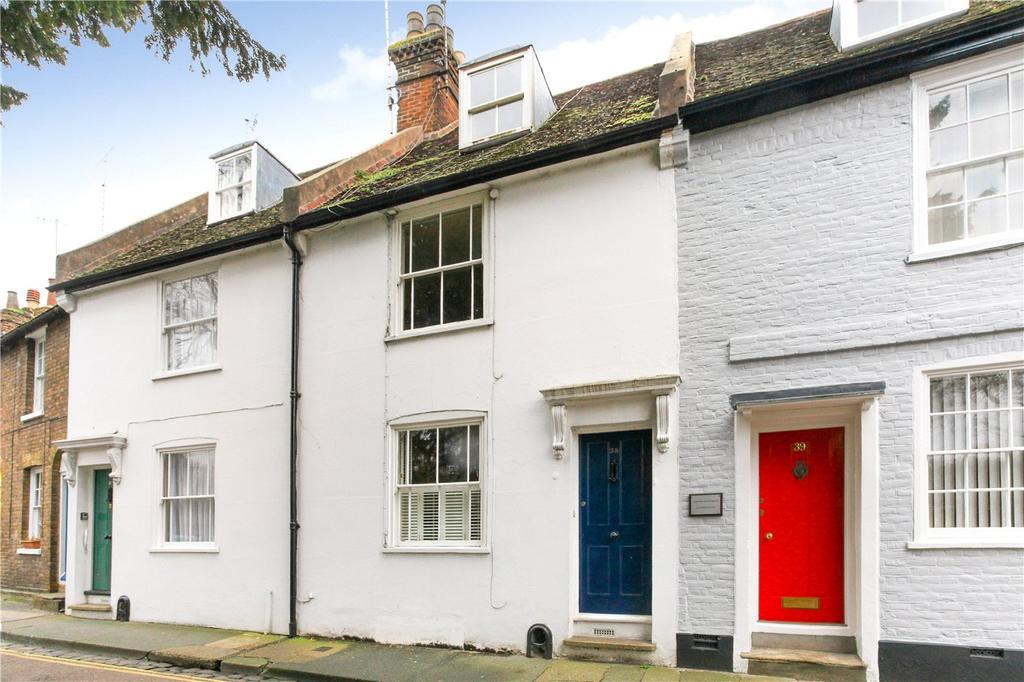 3 Bedrooms Terraced House for sale in Castle Row, Canterbury, CT1