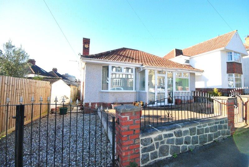 2 Bedrooms Detached Bungalow for sale in Seabrook Road, Milton, Weston-super-Mare, North Somerset, BS22