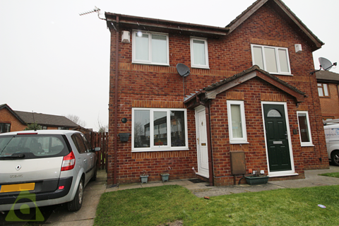 2 bedroom semi-detached house for sale - Ribble Drive, Whitefield, M45