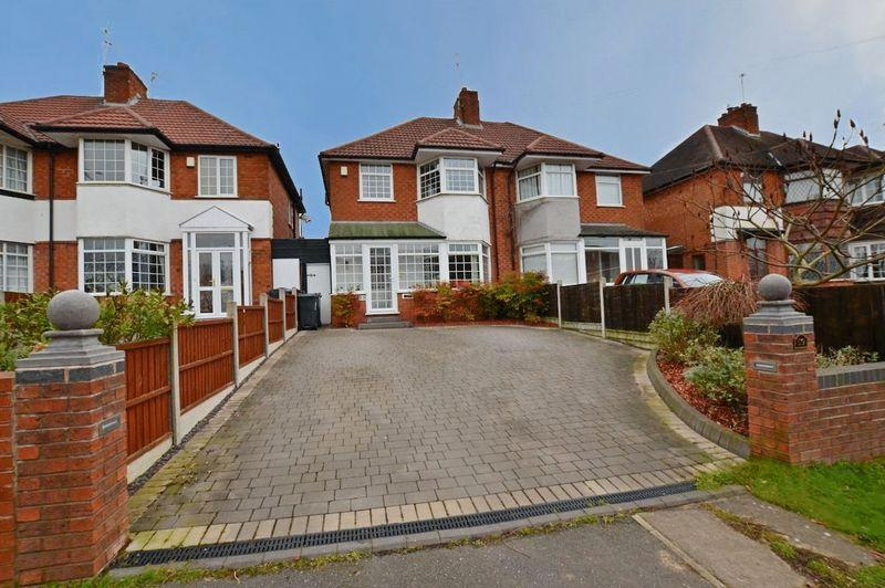 3 Bedrooms Semi Detached House for sale in Ridgacre Road, Quinton