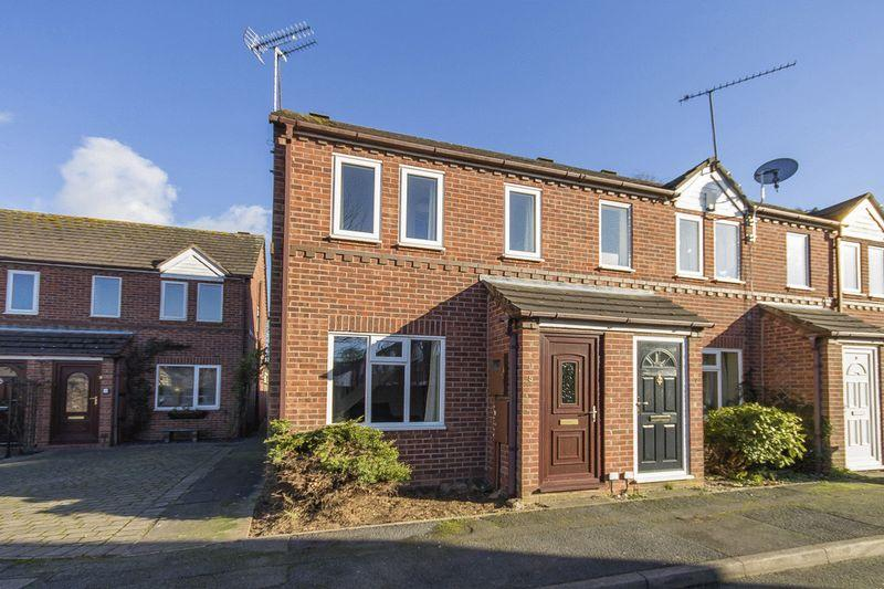 2 Bedrooms End Of Terrace House for sale in Derventio Close, Chester Green
