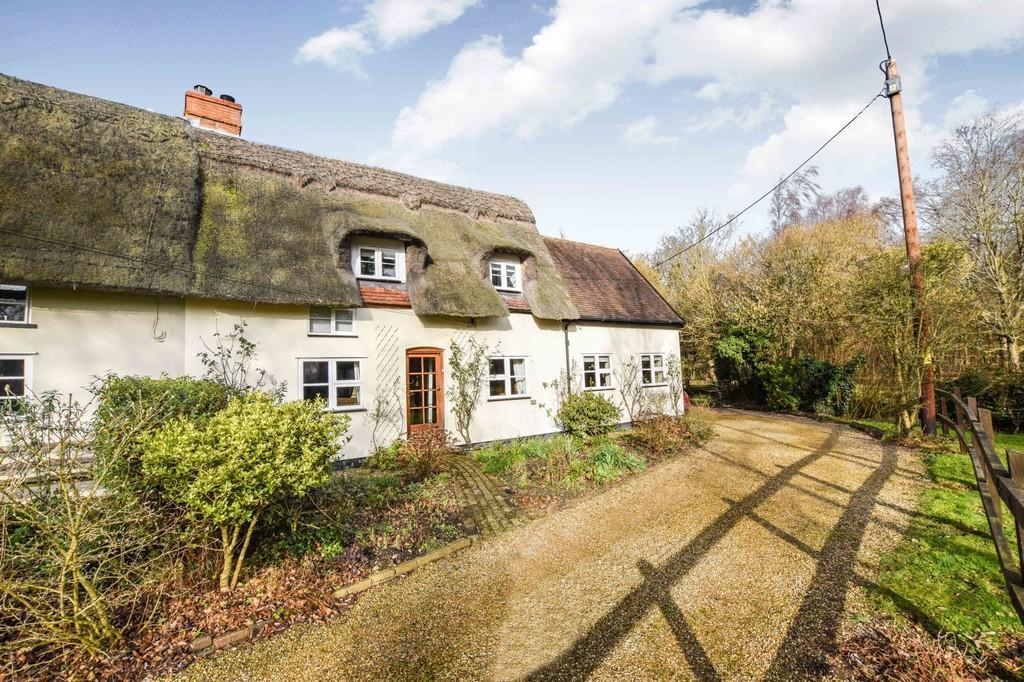 3 Bedrooms Semi Detached House for sale in Wickerstreet Green, Kersey, IP7 6HA