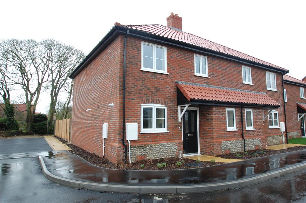 3 Bedrooms End Of Terrace House for sale in Gooch Close, Coast Road, Bacton