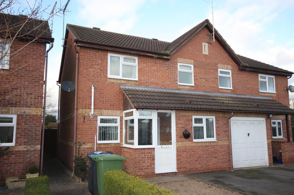 3 Bedrooms Semi Detached House for sale in Scott Close, Bidford-on-avon