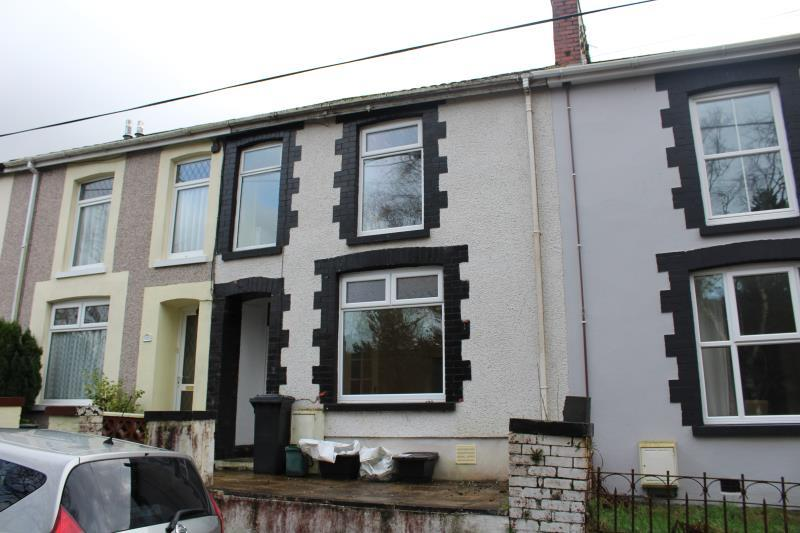 3 Bedrooms Terraced House for sale in Bryn Terrace, Melincourt, Neath
