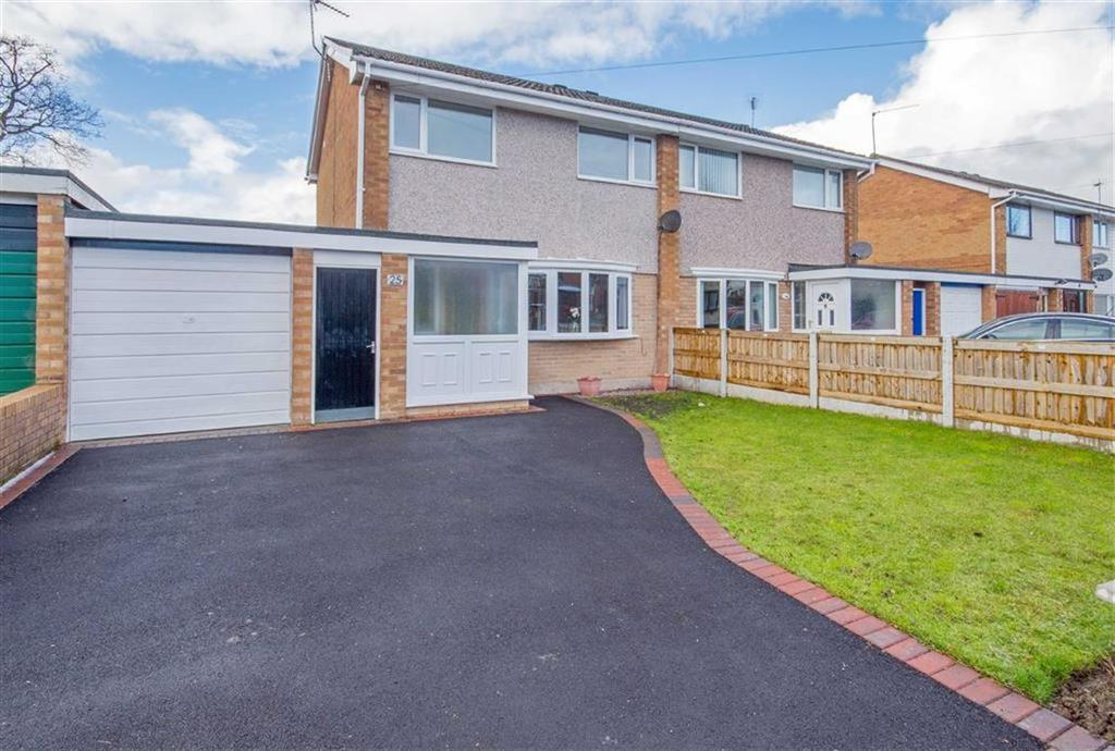 3 Bedrooms Semi Detached House for sale in Park Avenue, Mynydd Isa, Mold