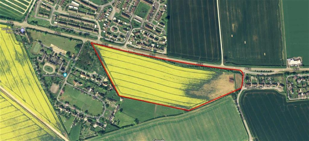 Land Commercial for sale in Lancaster Green, Hemswell Cliff, Gainsborough, Lincolnshire