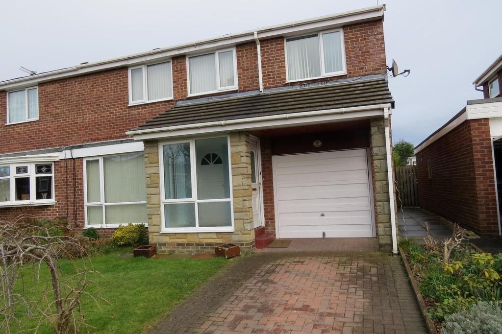 4 Bedrooms Semi Detached House for sale in Irthing, Highthorne Estate, Ellington