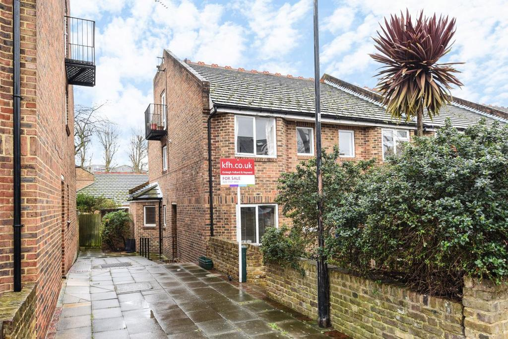 3 Bedrooms Terraced House for sale in Weavers Terrace, Fulham