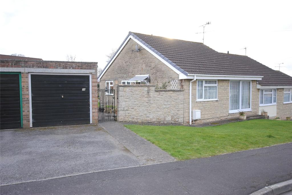 2 Bedrooms Semi Detached Bungalow for sale in Masons Way, Cheddar, BS27