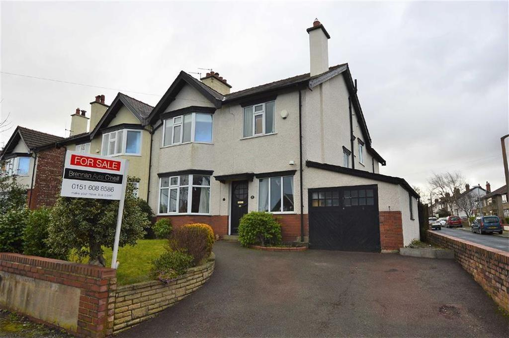 4 Bedrooms Semi Detached House for sale in Ashburton Road, Claughton, CH43