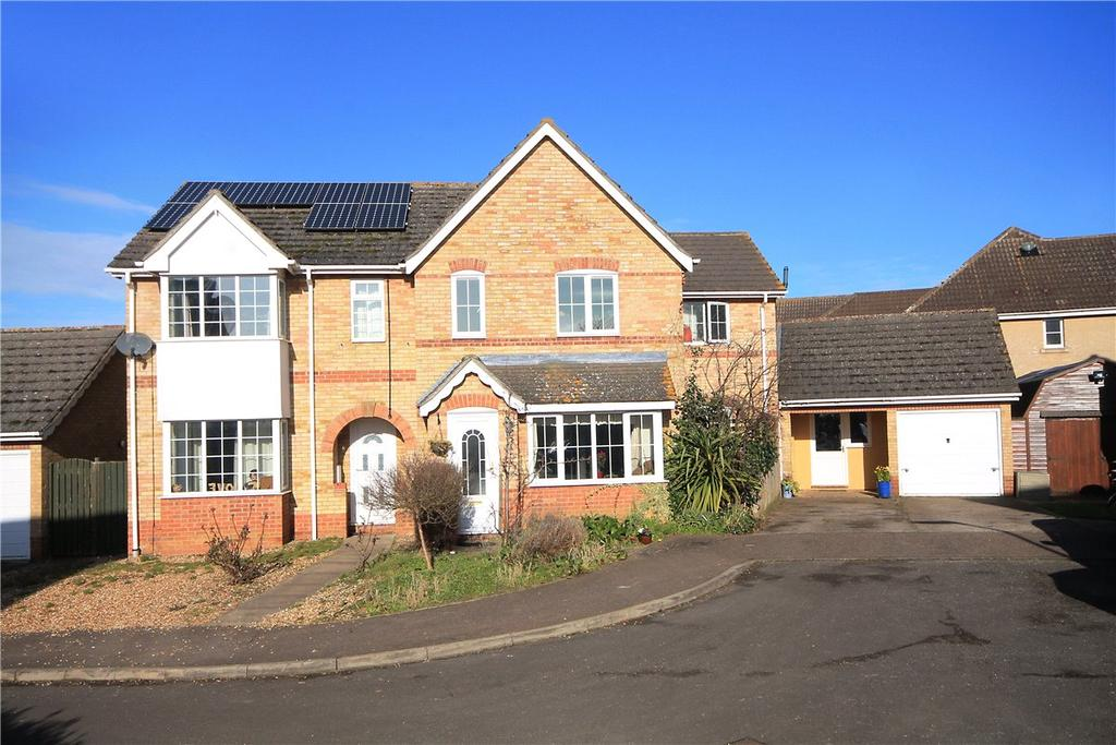 4 Bedrooms Semi Detached House for sale in Kitson Gardens, Stretham, Ely, CB6