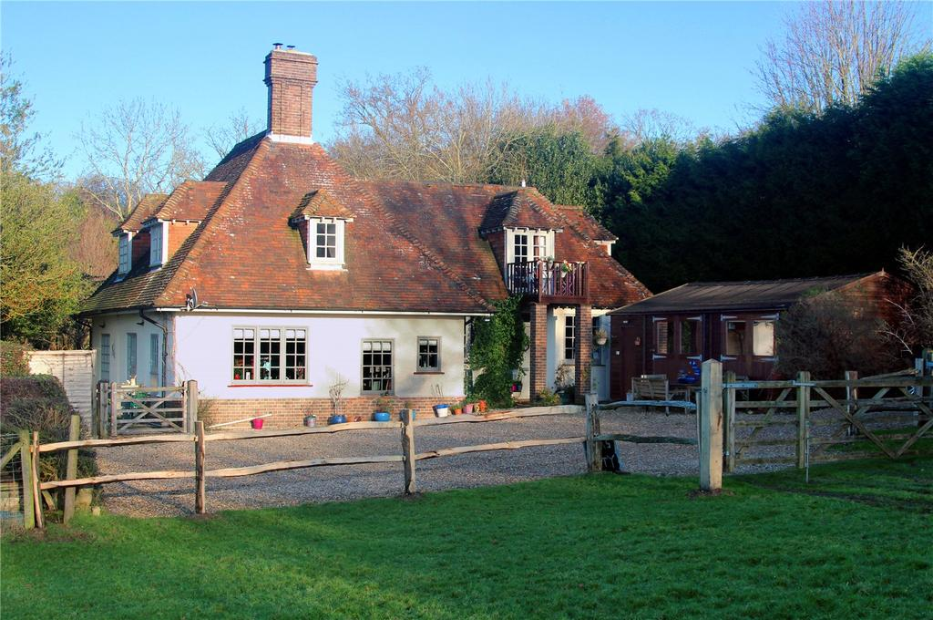 4 Bedrooms Detached House for sale in Shepherds Hill, Colemans Hatch, Hartfield, East Sussex