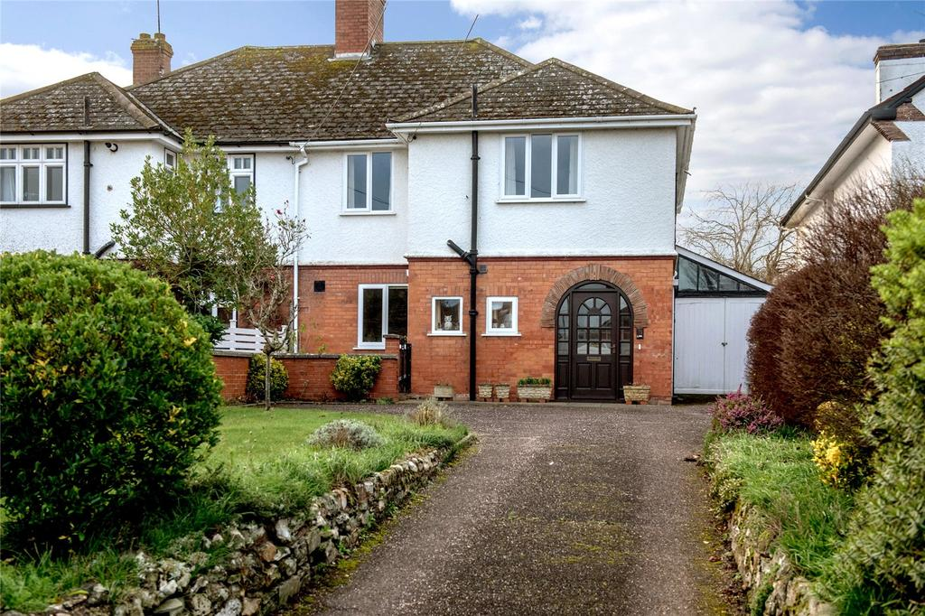 4 Bedrooms Semi Detached House for sale in Stoke Road, Taunton, Somerset