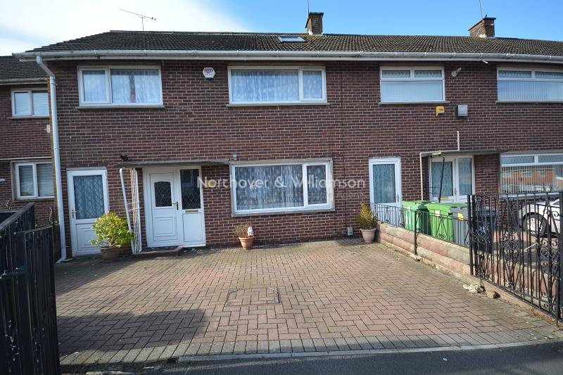 4 Bedrooms Terraced House for sale in Petherton Place, Llanrumney, Cardiff, Cardiff. CF3
