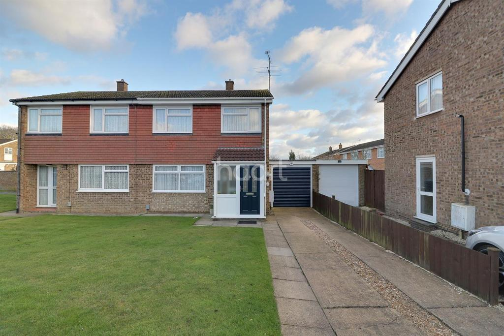 3 Bedrooms Semi Detached House for sale in Benson Close, LU3