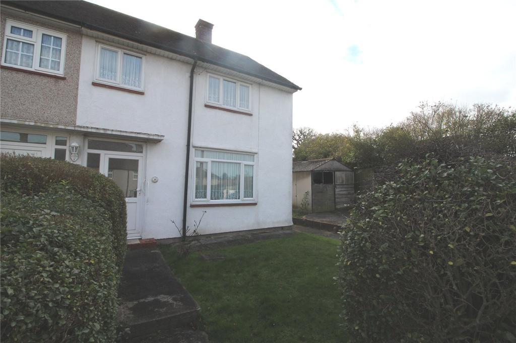 2 Bedrooms End Of Terrace House for sale in Newbury Gardens, Harold Hill, RM3