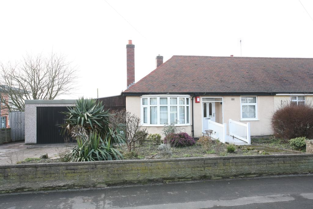 2 Bedrooms Semi Detached Bungalow for sale in 70 Beech Tree Lane, Cannock, WS11 1AY