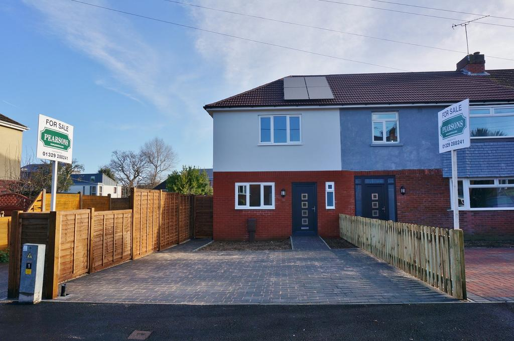 3 Bedrooms End Of Terrace House for sale in FAREHAM - NEW BUILD
