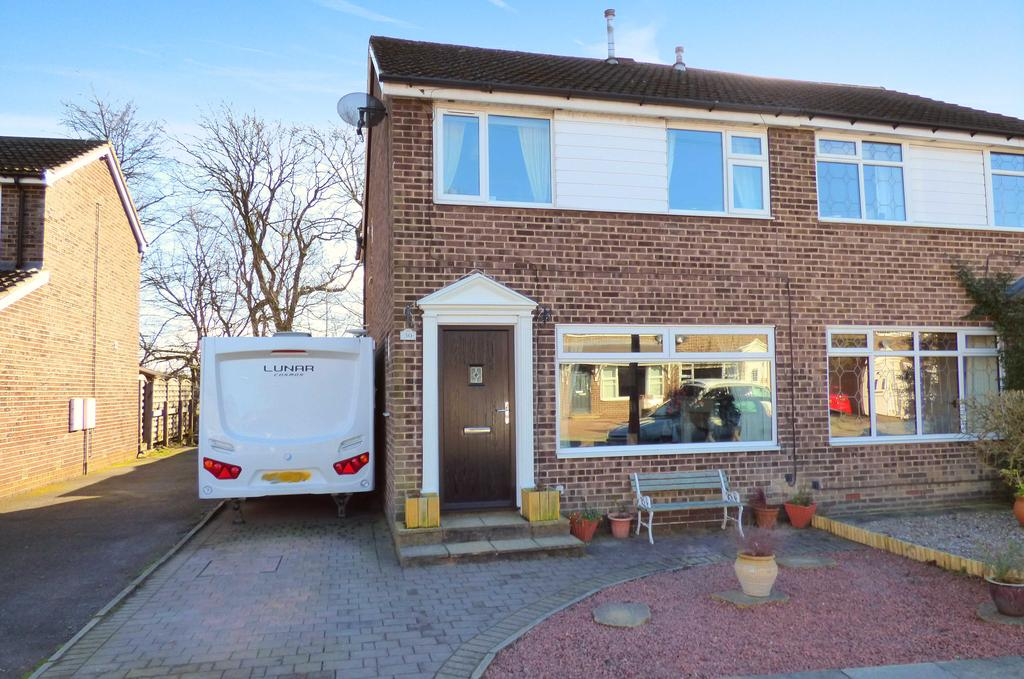 3 Bedrooms Semi Detached House for sale in 30 Park Close, Lightcliffe HX3 8SQ