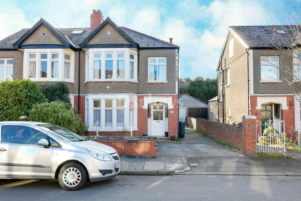 3 Bedrooms Semi Detached House for sale in St Denis Road, Heath, Cardiff, CF14