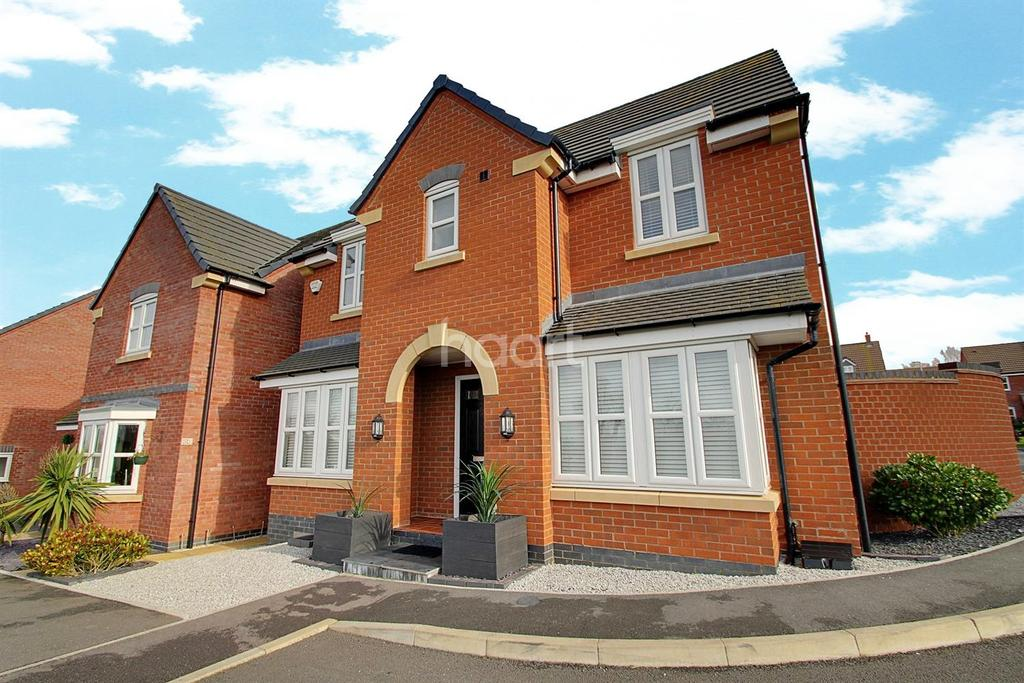 3 Bedrooms Detached House for sale in Boundary Close, Scraptoft, Leicester