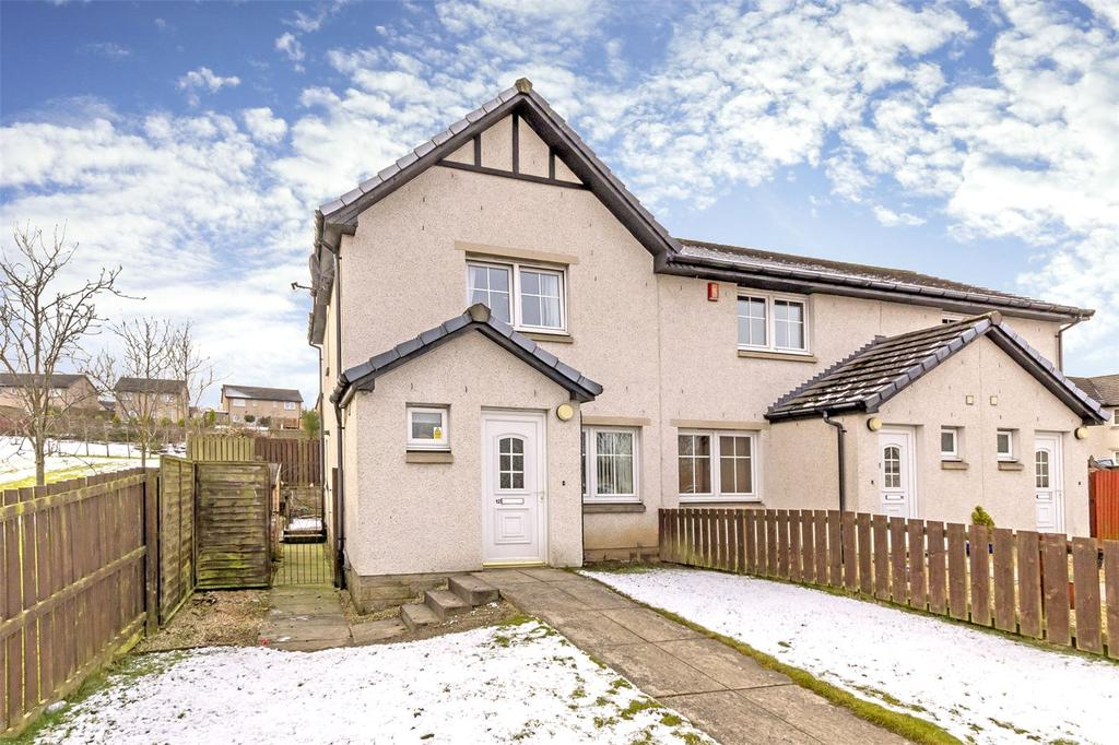 2 Bedrooms End Of Terrace House for sale in 12 Thornycroft Terrace, Plean, Stirling, FK7