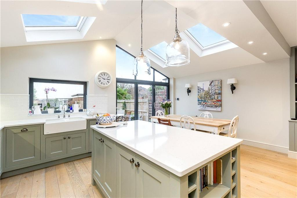 5 Bedrooms Semi Detached House for sale in Burntwood Grange Road, Wandsworth, London, SW18