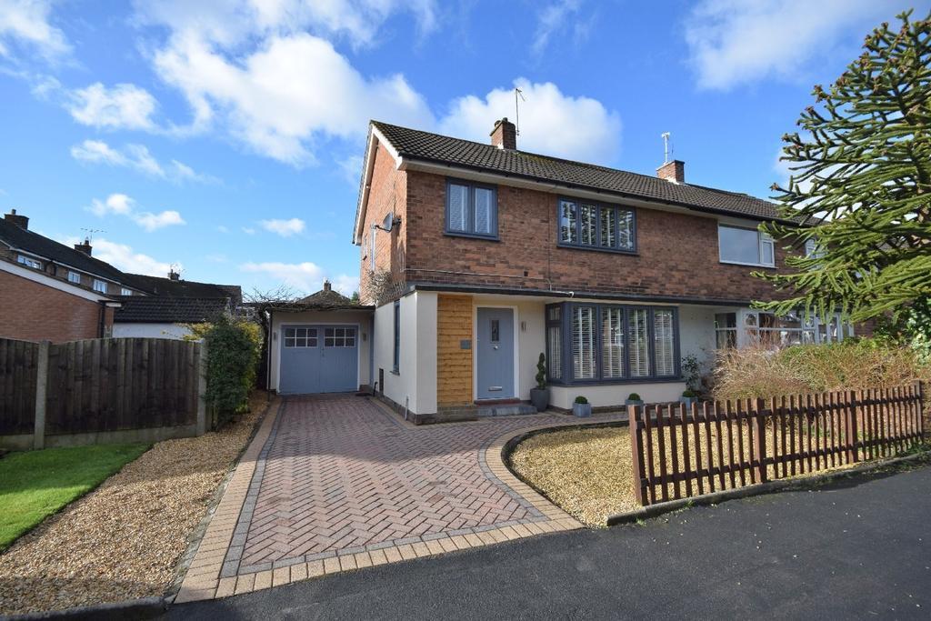 3 Bedrooms Semi Detached House for sale in Buckingham Road, Poynton