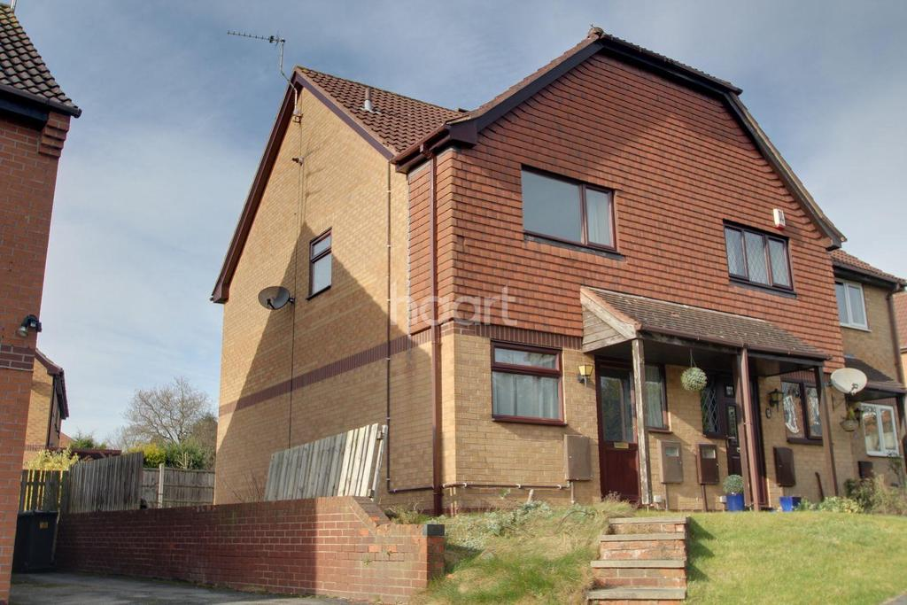 2 Bedrooms End Of Terrace House for sale in Northacre Road, Oakwood