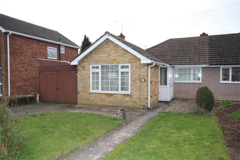 2 Bedrooms Semi Detached Bungalow for sale in Bramdene Avenue, Weddington, NUNEATON, Warwickshire