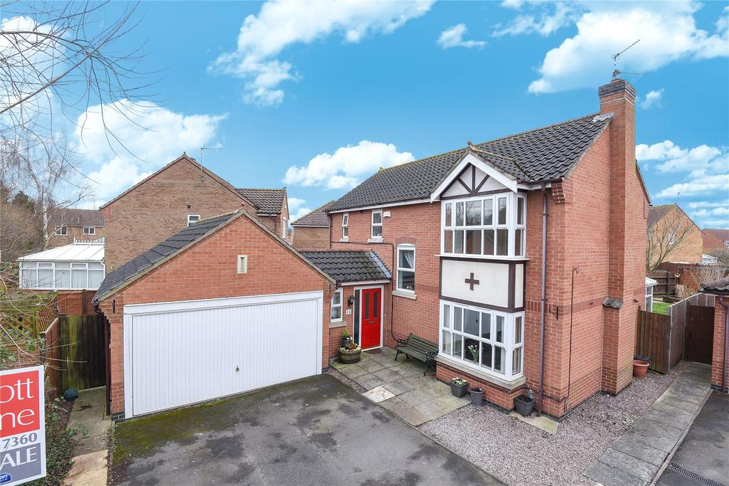 4 Bedrooms Detached House for sale in Cook Drive, Spalding, PE11